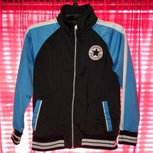Varsity converse jacket (boys size med10-12yrs)